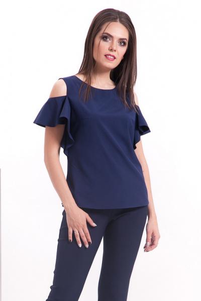 Блуза с открытыми плечами, Б-222/1