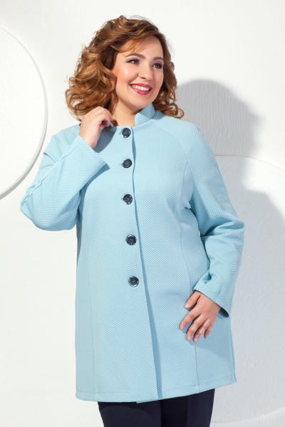 Пальто прямого силуэта укороченное, П-418