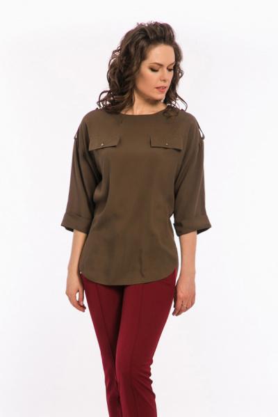 Блуза из мягкой вискозы, Б-258/1